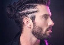 لأصحاب الشعر الطويل.. ضفائر رجالية تواكب موضة 2020