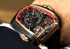 بالصور: ساعة بوغاتي الفاخرة بسعر 580 ألف دولار