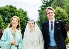 بالصور: حفل زفاف الأميرة راية بنت الحسين على صحافي بريطاني