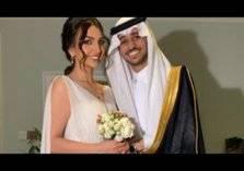 شاهد.. حفل زواج عايض يوسف من إعلامية سعودية