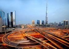 الإمارات تتفوق على استراليا وسنغافورة في مشاريع البنية التحتية