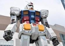 "شاهد.. روبوت ضخم مستوحى من شخصية ""جاندام"""