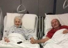 60 سنة حب وكورونا يجمعهما في غرفة واحدة