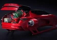 """شاهد.. سيارة """"سانتا كلوز"""" ذات التصميم الفريد من لكزس"""