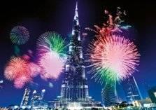 دبي تفتتح العام الجديد بعمل فني يحتفي بمكانتها العالمية (فيديو)