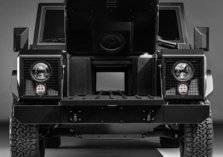 شاحنة قادمة تهزم الطرق الوعرة من بولينجر (صور)