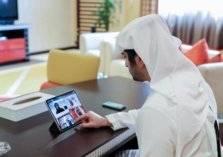 الإمارات الأولى عربياً في العمل عن بعد