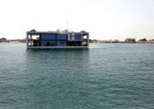 أول بيت عائم ومتحرك في العالم أصبح واقعاً في الإمارات
