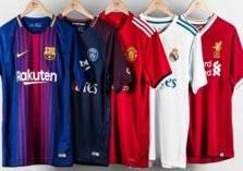 ترتيب قمصان أندية كرة القدم الأكثر مبيعاً في العالم