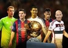 قائمة أفضل 10 لاعبين في التاريخ ورونالدو في المقدمه