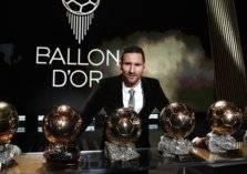 ميسي يختار 4 مرشحين للتتويج بجائزة الكرة الذهبية